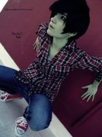 Adventure Time Cosplay: Marshall Lee 02 by LadyNoa
