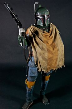 The galaxy's most infamous bounty hunter by jfett69