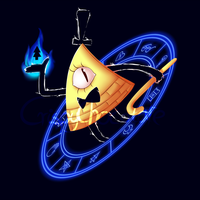 Bill cipher shirt by CrispyCh0colate