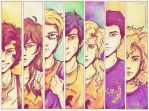 Seven Half Bloods Shall Answer the Call by jaaychaan