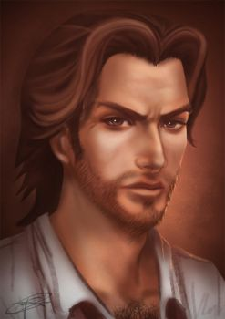 The Big Bad Wolf aka Bigby by tracetincin
