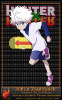 Killua Zaoldyeck 03 by Kyriount