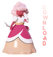 MMD Padparadscha Sapphire Ver 1.8 (Download)! by frozenfan1234