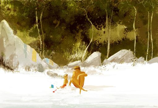 Sand Castles and you. by PascalCampion