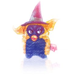 1999 Dream Furby by Witchin