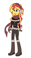 Winter Sunset Shimmer by REMcMaximus