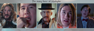 The many many faces of Markiplier by BigDumpDoofyDoo