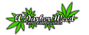 ADarkerWeed Brushes by ADarkerStock