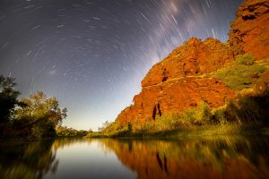 Star Trails over Deepdale by Niv24