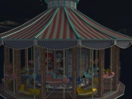 Deam Carousel by Realmgal