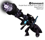 Genesect BRS Form by Midnitez-REMIX