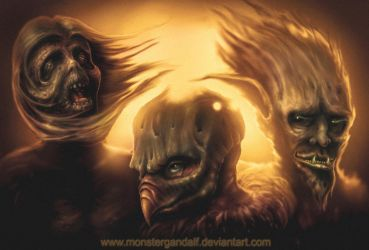 3 Dudes by monstergandalf