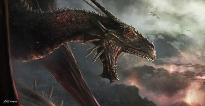 Dragon's Anger by Shue13