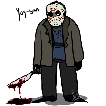 Choose your fighter- Jason Voorhees by REDAZ1234