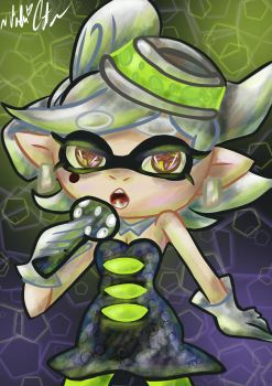 Splatoon Marie Fanart by MaD4PLaiD
