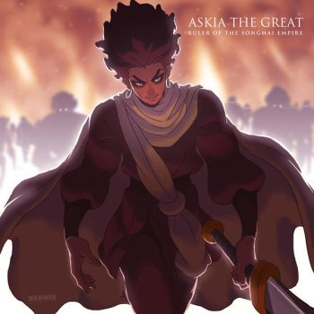 Askia The Great by David-Dennis
