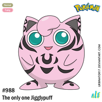 The only one Jigglypuff by Urbinator17