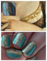 Neckline Nails by RobertsPhotography