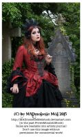 Vampire Queen Stock Gothic 004 by MADmoiselleMeliStock