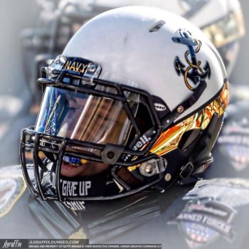 Navy Football by jlgraffix