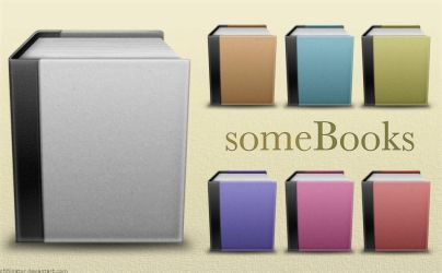 someBooks Icons by c55inator