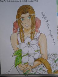 The Aerith's gift by CJ-DB
