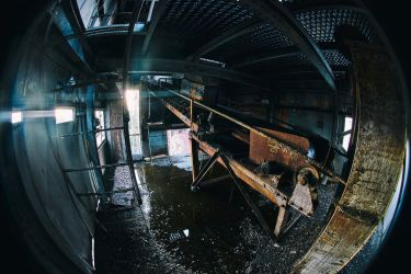 4493, old AMCOR papermill. by thespook