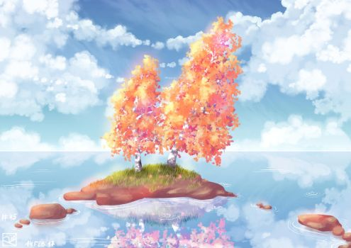 Place of calm by Rina-from-Shire