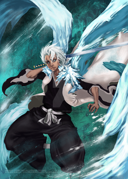 Hitsugaya Toshiro by The-dolphins-cry