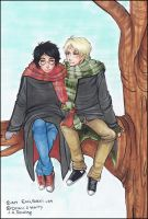 D and H sitting in a tree by Eccikekci