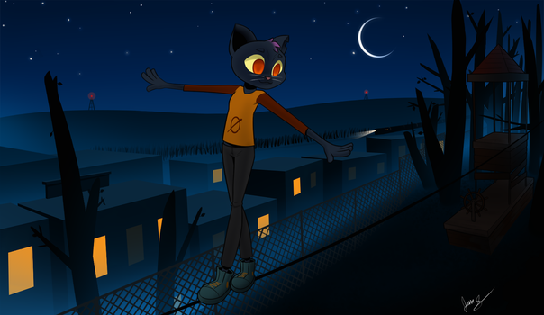 Mae - Night in The Woods by JesseMG
