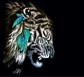 You will hear me roar at night by Schoerie