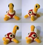 Shuckle Pokemon Time Plush by Pannsie