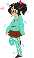 vanellope von kawaii as shit nuggets by GravelPudding