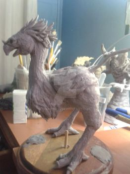 Final Fantasy Chocobo (WIP) by Maikore24