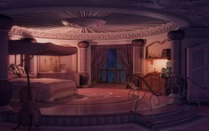 Princess's Room [night] by JakeBowkett