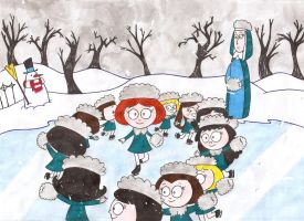 Madeline's White Christmas by nerdsman567