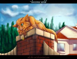 cats warriors - into the wild by ak-the-cat