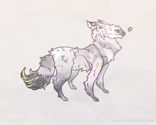 Fluff Creature~Auction! (Closed) by NeonCorvid
