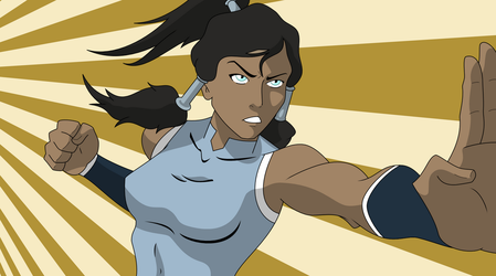 Korra by Whothehellisthat