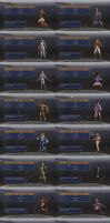 DW7:E Recurring Cast Pack by BustaWolf