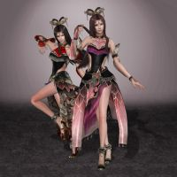 Dynasty Warriors 7 Diao Chan by ArmachamCorp