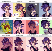 the many faces of triton by DreamDriftSprite