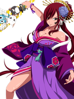 Erza Happy New Year.... by eikens