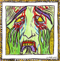 Frustration II - Impression on Munch by LuanMonta