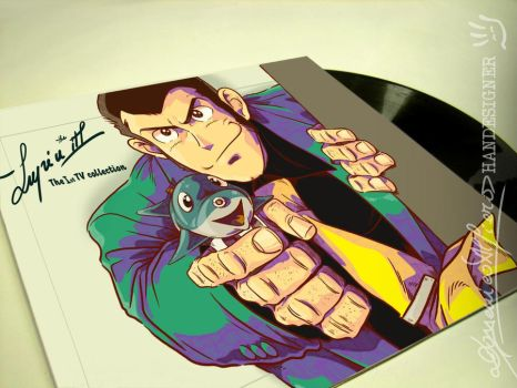 LUPIN III the 1st TV ost LP by handesigner