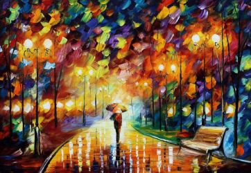 Reincarnation by Leonid Afremov by Leonidafremov