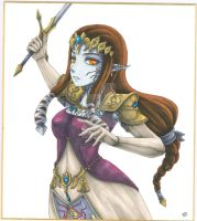 Princess Zelda possessed by RagnarokeMD