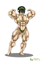 Commission - Toph by MATL