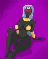 Queen Tyr'ahnee relaxed by Schnuron